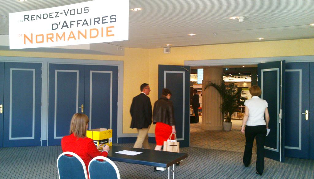 BtoB de Normandie Industrie 2013 à Deauville