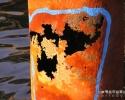 Phénomène de corrosion accélérée sur un pieu