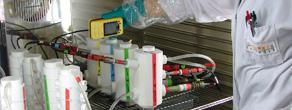 Test d'efficacité de produits biocides pour trouver une solution contre la biocorrosion