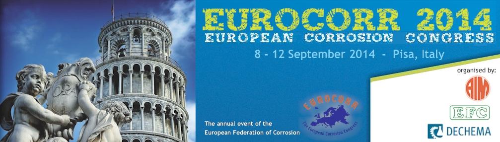 Eurocorr2014 Convention europenne corrosion