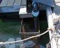 Eau de mer pompée directement dans la Manche