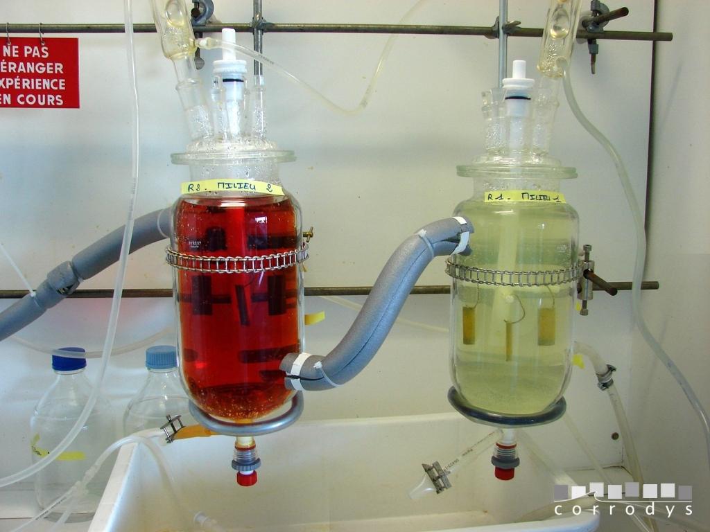 Etude corrosion en immersion du titane en milieu acide