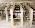 Essais de corrosion des déchets magnésiens