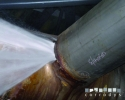 Corrosion expert assessment on a pipeline punctured by a corrosion problem