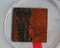 Échantillon de métal - corrosion métaux