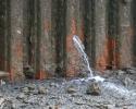 Percement due à la corrosion influencée par les microorganismes