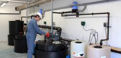 Test efficacité biocide - Traitement de l'eau