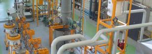 Boucle d'essais de corrosion marine en eau de mer naturelle renouvelée