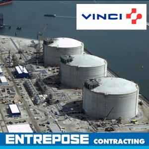 Gnl rotterdam Entrepose Contracting Vinci