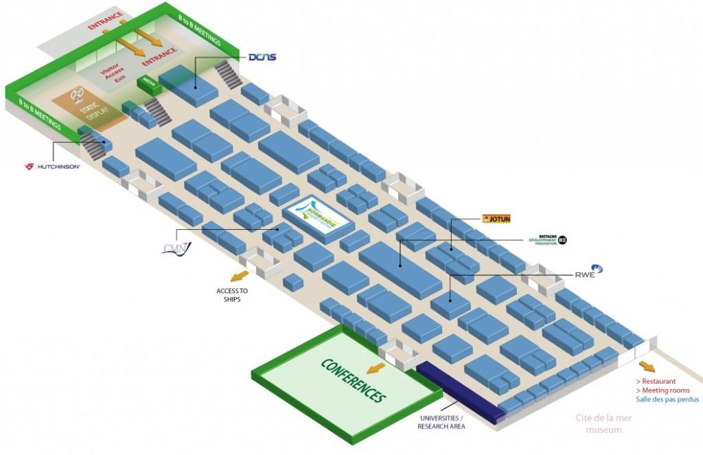 Plan exposants Thétis 2014