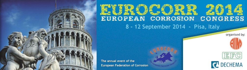 Eurocorr2014 Convention europenne corrosion
