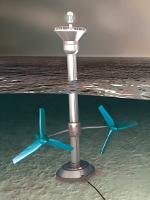 Tidal turbine marine renewable energy