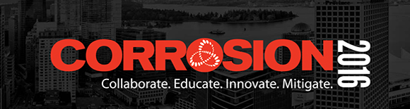 Corrosion 2016 Vancouver organized by NACE